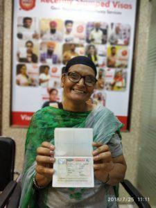 Amarjit Kaur Multiple Entry visa
