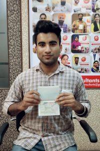 Avesh Kumar - Jagraon - Study Visa