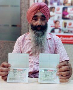 Avtar Singh & Mansimran Kaur- Taran Taran- Multiple Entry Visa