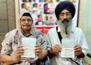 Baldev Singh & Gurdeep Kaur - Gurdaspur - Multiple Entry Visa