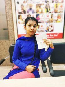 Dilpreet Kaur - Raikot - Study Visa