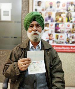 Gursharan singh - Multiple Entry Visa