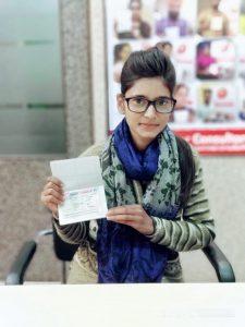 Haramndeep Kaur - Raikot - Study Visa