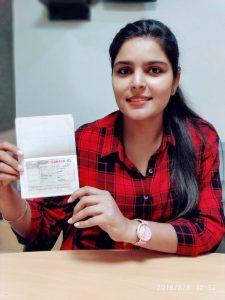 Harmanjot - Nabha - Study Visa