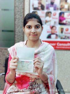 Harpreet Kaur- Chamkaur Sahib- Study Visa