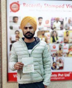Inderjit Singh - Chamkaur Sahib - Study Visa