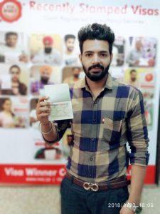 Kamalpreet Singh - Chamkaur Sahib- Study Visa