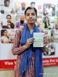 Kiranpreet - Morinda - Study Visa