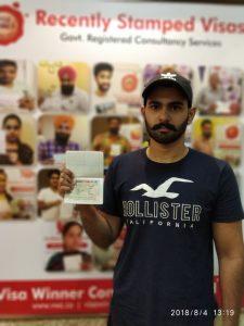 Manav Khanna- Chandigarh - Study Visa