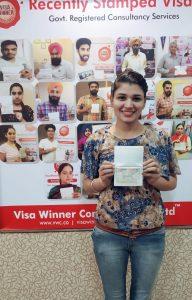 Mehakpreet Kaur - Chamkaur Sahib - Study Visa