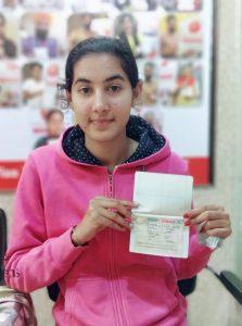 Navdeep Kaur - Chamkaur Sahib - Study Visa