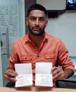 On Behalf of Gurbachan Singh & Sukhvinder Kaur - Sangroor - Multiple Entry Visa
