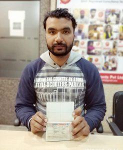On Behalf of Kulwinder Kaur - Jalandhar - Multiple Entry Visa