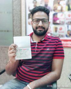 On Behalf of Surinder Kaur- Bathinda - Multiple Entry Visa
