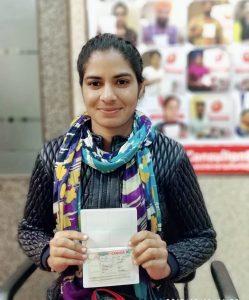 Palwinder Kaur - Jagraon - Study Visa