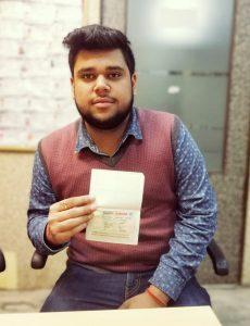 Rahul Joshi Brother - Ambala - Study Visa