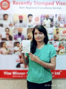 Ramndeep Kaur Dhaliwal - Raikot - Study Visa