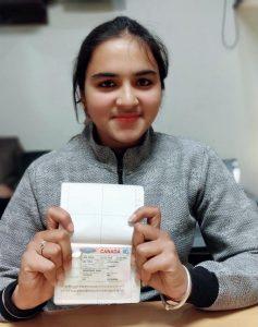 Rashpinder Kaur - Ropar - Study Visa