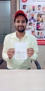 Sahil Sharma - Kharar- Study Visa