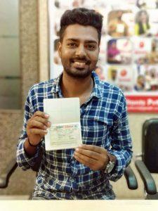 Saurav Batish - Jagraon- Study Visa