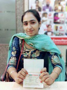 Sharan - Chamkaur Sahib - Study Visa