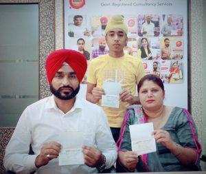 Sukhbeer Singh & Family - Amritsar- Multiple Entry Visa