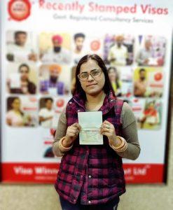 Vandana Bains - Ludhiana - Spouse work Permit